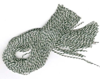 "300 PRECUT 12"" Bakery Twine STRINGS for Hang Tags, Ornaments Etc. Choice of color."