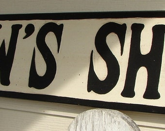 Pawpaw's Shop sign