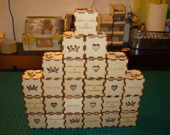 box treasure 1779 for a wedding, communion etc...