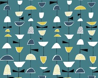 Organic Cotton Fabric- Monaluna- Anya- STRUNG - low shipping