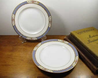 Two (2) Vintage Fraureuth Small Plates - Made in Germany
