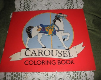 Carousel Coloring Book By Freels Foundation Collection