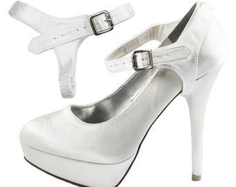 Single Detachable Shoe Straps (Satin material)