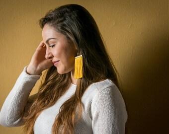 Fevronia Tassel Earrings