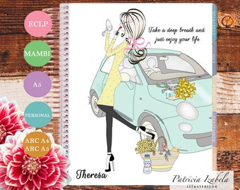 Summer Mambi Planner Cover Arc Planner Cover Happy Planner Cover Filofax A5 Planner Cover Personal Planner Cover A4 Planner pages ECLP Cover