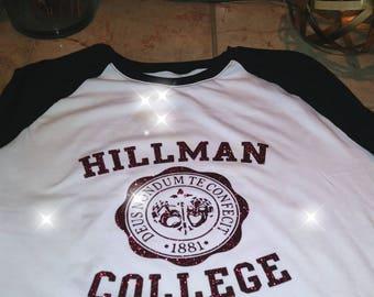 It's a Different World! Hillman College Tee Shirt