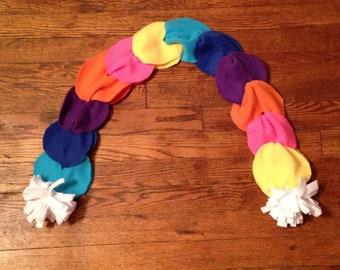 Fun Rainbow Scarf