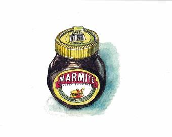 Marmite Art Print - Instant Digital Download