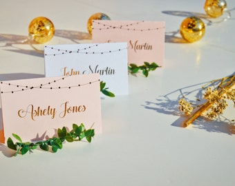 Lantern Detail Place Card ( Sets of 10 )