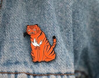Tiger pin