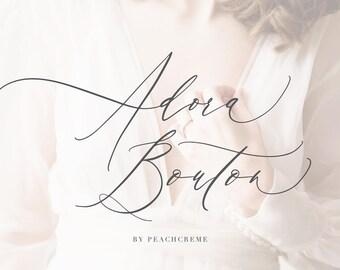 wedding calligraphy fonts