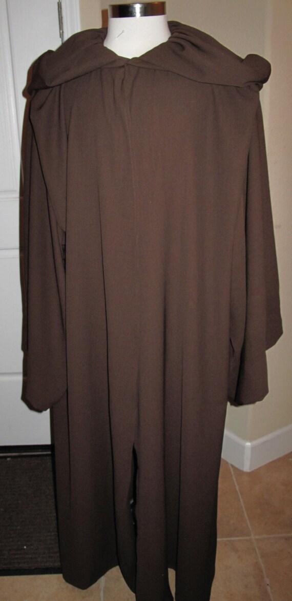 Star Wars Anakin Skywalker Episode 3 100% wool suiting or crepe robe in 5 sizes