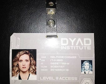 Delphine - DYAD ID Badge *Printable File*
