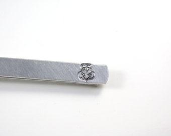 Claddagh Tie Bar - Claddagh Tie Clip - Hidden Message - Tie Bar - Tie Clip - Claddagh Gift For Men - Claddagh Accessory - Claddagh Gift