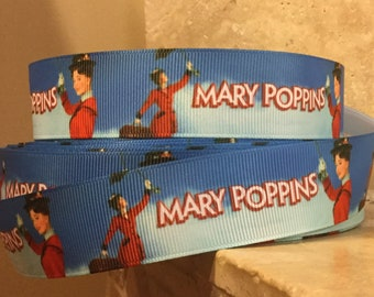 5 YDS Mary Poppins In Red Ribbon