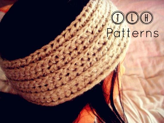 Crochet Headband Pattern Crochet Textured Headband Crochet