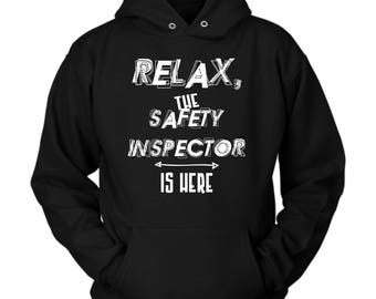Safety Inspector hoodie. Cute and funny gift idea