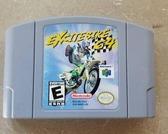 Excitebike 64 Nintendo 64 N64