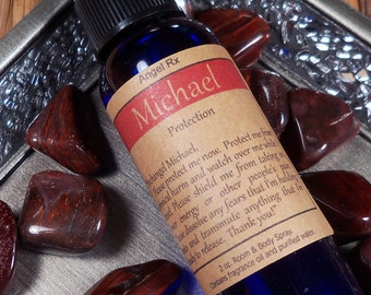 Guardian Angel Michael Protection Spray - Ask Archangel Michael to Protect You & Keep You Safe During Travel, Remove Fear Shield Your Energy