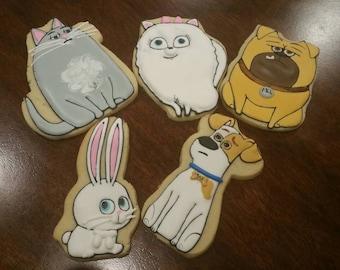 secret life of pets cookies