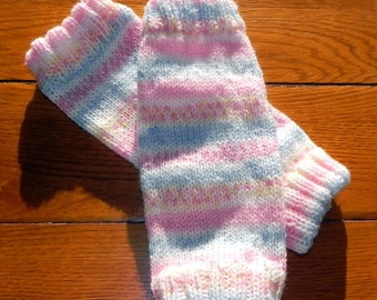 Toddler Ballerina Leg Warmers Knitting Pattern PDF