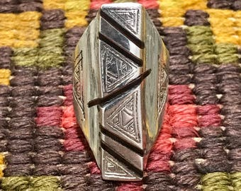 Ebony wood rings