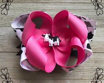 Bubblegum Pink Cow