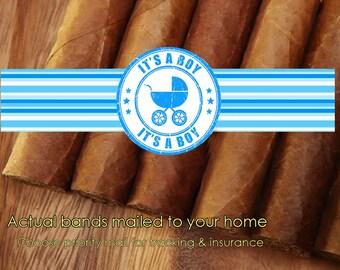 It's a Boy Cigar bands | It's a Girl Cigar bands | Cigar labels | Baby cigar bands | Actual cigar bands