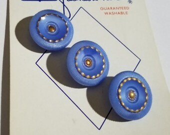 Original B W fashion-nite Card 3 Blue Glass