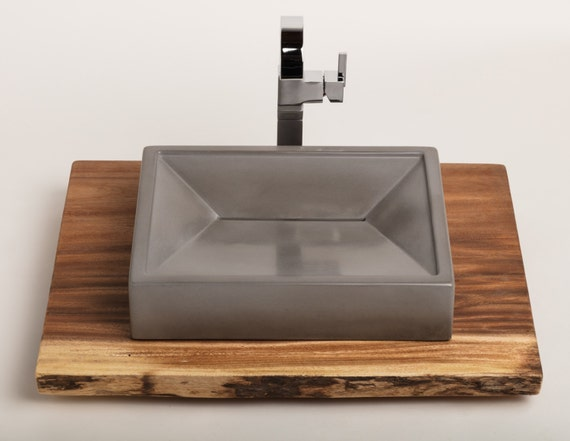 Concrete Vessel Sink Concrete Sink Vessel Sink Bathroom