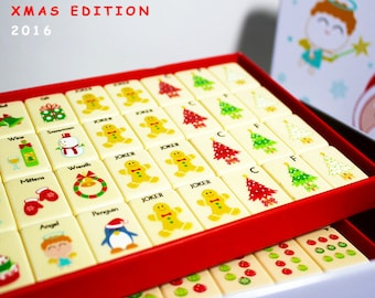Holiday mahjong set (2016 limited edition)