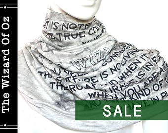The Wizard Of Oz Book Scarf