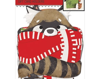 Jolee's Christmas Contemporary Gift Card Holders 3/Pkg