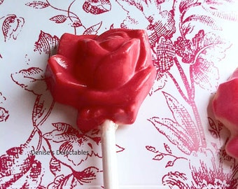 Roses Lollipops