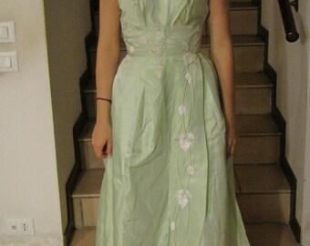 Evening dress, 60s prom dress