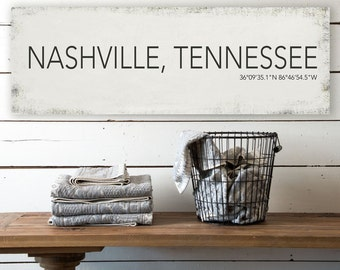 Nashville wall decor | Etsy