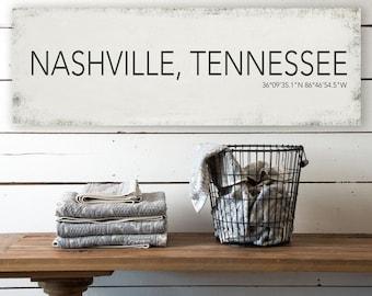 Nashville canvas | Etsy