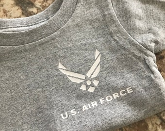 Infant Air Force Shirt - Baby Air Force Shirt - Military baby - Air force Brat - Future Soldier - Kid PT shirt