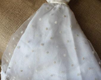 Vintage Barbie wedding dress