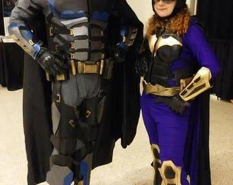 Nightwing Tactical Gauntlets dc costume cosplay U0Xic9P