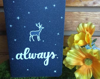 Always Pocket Journal // Harry Potter // Sketchbook // Notebook