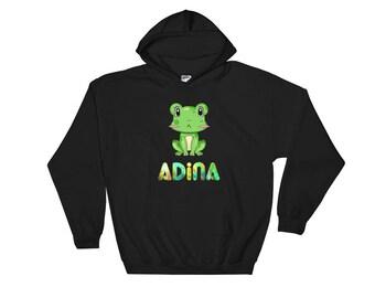 Adina Frog Hooded Sweatshirt