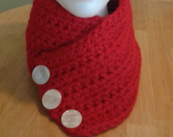 Harbor Scarf - red