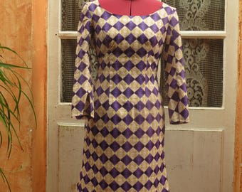 African patterned shift dress