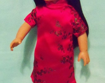 SALE/ 18 inch Doll  Asian Inspired Dress