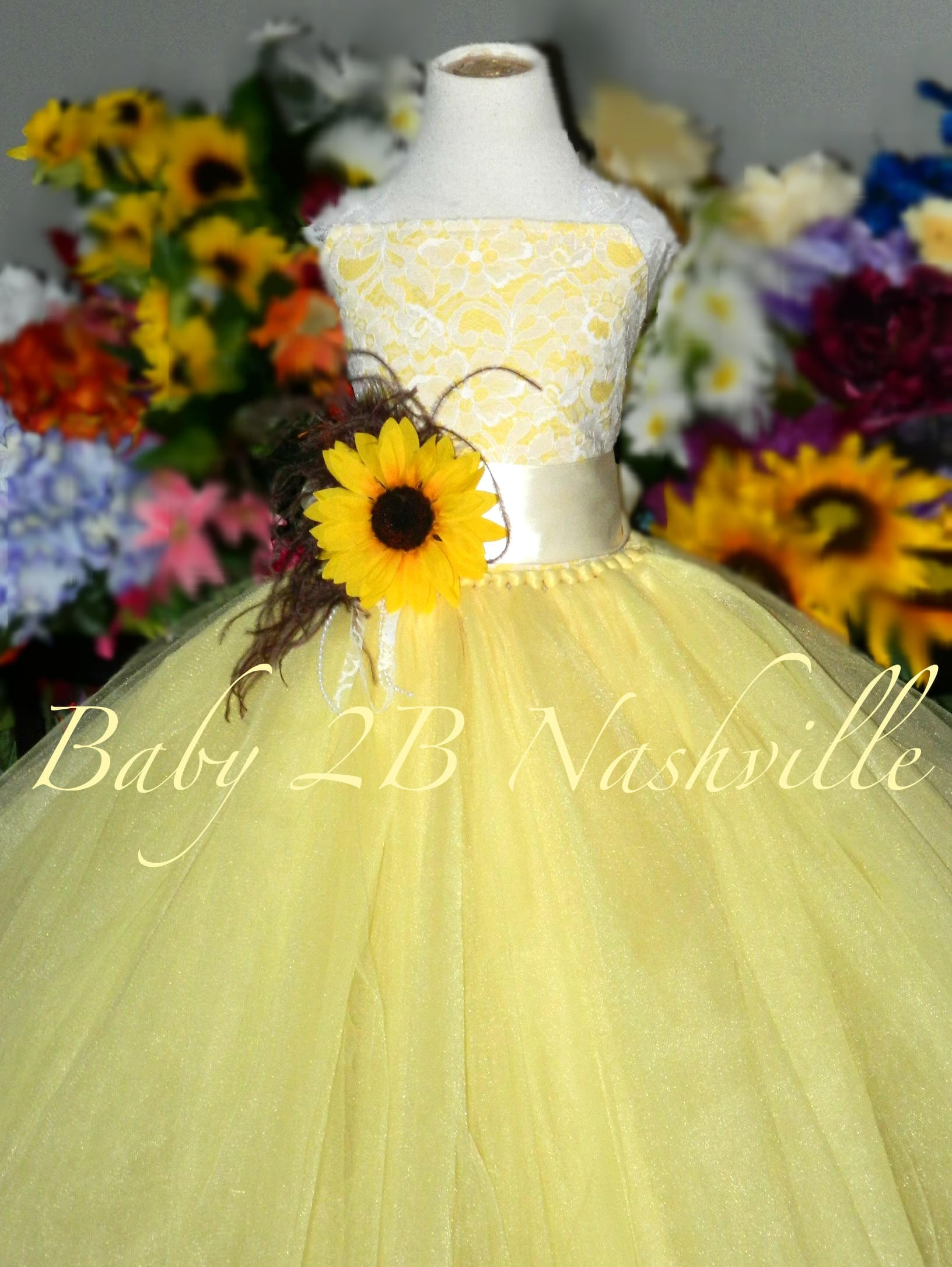Sunflower dress maize yellow dress flower girl dress lace dress sunflower dress maize yellow dress flower girl dress lace dress summer dress baby dress toddler dress girls dress mightylinksfo