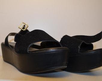 Vintage Platform Shoes Size 7/40