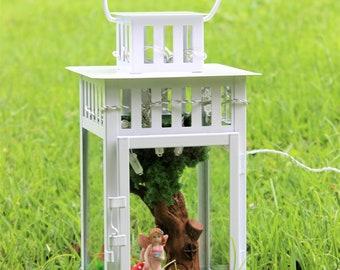 Fairy garden lantern, fairy garden night light, fairy light, fairy night light, fairy lamp, magic lantern, fairy garden accessories