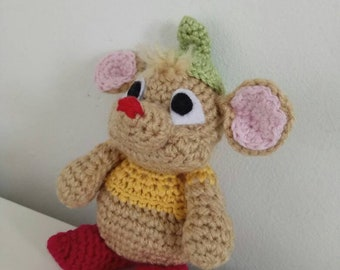 Crochet gas gas Inspired by Cinderella's mouse