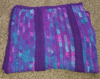 Purple Lap Blanket